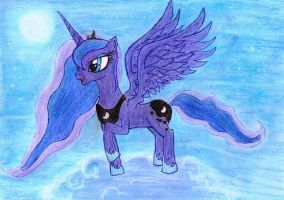 Princess Luna by DemonMew