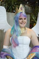 Princess Celestia - ECCC 2014 - 5 by Chochomaru