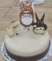 My Neighbor Tortoro Cake by Qess