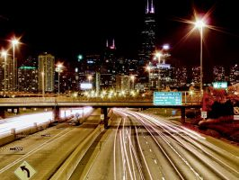 Chicago Loop Exit by lightzone