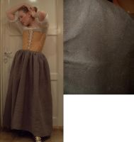 Quilted petticoat by LadyCafElfenlake