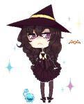 Candy Witch : Erioul by LucciolaCrown