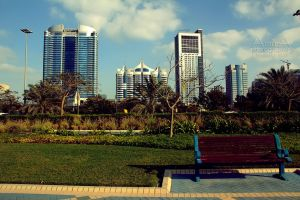 Abu Dhabi from Corniche 3 by amirajuli