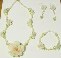 Inspired Marie Antoinette Jewelry set by AnaInTheStars