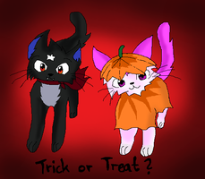 CE: Trick or treat? by Lizzara