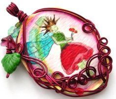 Neverland Pendant no. 1 by sojourncuriosities
