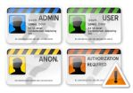 security cards by daj