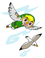 If Link Turned Rito... 2 by swordxdolphin