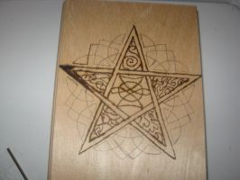Five Elemental Pentagram Box by WillowForrestall