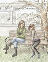Hallie and Jenna by achelseabee