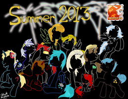 Staff of BronyCAN 2013 - firework edition by TatsukiIshida10