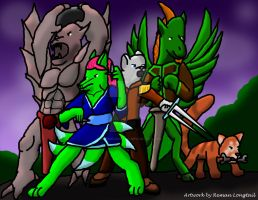 Protectors of the Dragonlands by remanlongtail