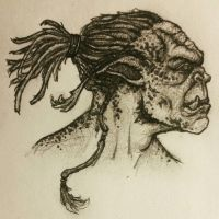 dreads spotted orc by Armenoc