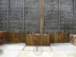 small English garden 1(small fence) by sinparadox