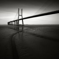 Vasco da Gama bridge Study III by pedroinacio