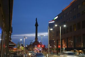 Soldairs Sailors Monument Cleveland, Ohio by TomKilbane