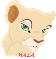 Adult Nala by SolitaryGrayWolf