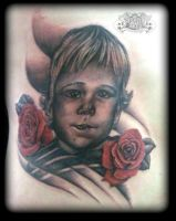 Portrait by state-of-art-tattoo