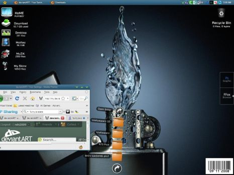 Desktop Screenshot by arshi2009