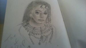 my first MJ drawing by TheRealSexyKate