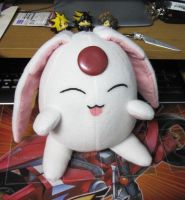 Mokona plush commission by Malindachan