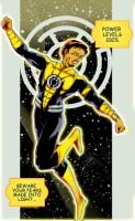 yellow lantern by bone32