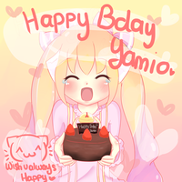 Happy Birthday Yamio!!! (^w^) by BZSarahHime