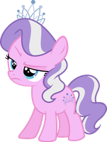 Diamond Tiara is not pleased by Hourglass-Vectors