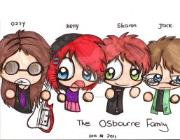 The Osbournes by Violent-Rainbow