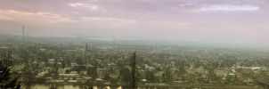 dresden panorama over the city by alamic-marius