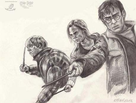 Harry Potter by Lunidy