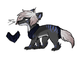 Weasel Design for Lizzy owo by Lalaloraa