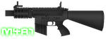 M4A1 'Stubby Killer' by sudro