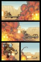 Atomic Robo vol.3 iss.4 page 3 by Lawnz
