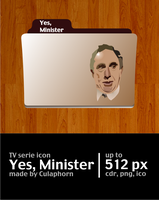 Yes, Minister Icon by Culaphorn