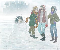 Snivellus the Snowman by Alatariel-Amandil