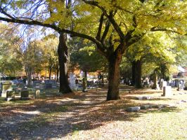 Autumn Cemetery 31 by DKD-Stock