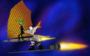 Treasure planet And Pn F crossover by Shoyzz