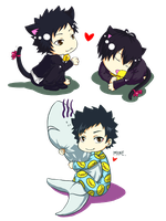 KHR - Chibi Header Footer by GKA