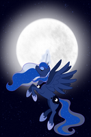 Raise The Moon - Luna by DarkAlchemist15