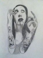 Marilyn Manson by Gochure