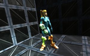 Zero Suit Samus Aran by darklinksmash
