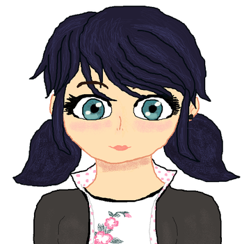 Miraculous ladybug:Marinette by cottoncloudyfilly
