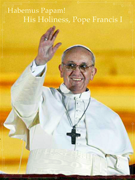 Pope Francis I by TrainerEM-Dustin