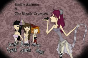 +Emilie Autumn n The Bloody Crumpets+ :w/oMakeup: by ITouchRoses