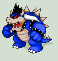 Pixel Art - Dark Bowser by NeoZ7