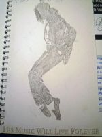 Drawing MJ 6 by MrsNikkiJackson