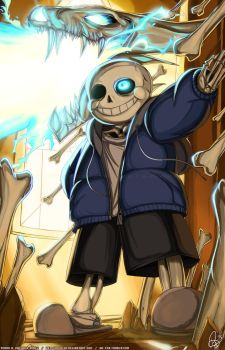 UNDERTALE - Sans Humor by Hellknight10