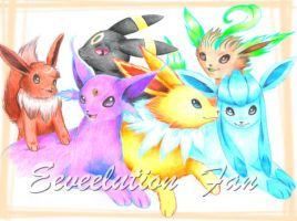 Eeveelution Fan by Eperia
