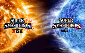 Super Smash Bros. Wii U/3DS Logo Wallpaper #16 by TheWolfBunny
